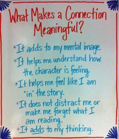 I Teach. What's your super power?: Making Connections