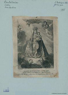[Virgen de la Candelaria]. Rico, José fl. 1787-1827 — Grabado — 1817