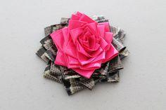 Duct tape rosette bow tutorial