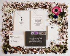 simple + modern invitation suite
