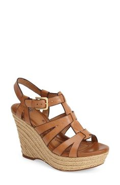 Free shipping and returns on Söfft 'Pahana' Espadrille Wedge Sandal (Women) at Nordstrom.com. The Pahana sandal goes ultrachic with a strappy leather silhouette and jute-trimmed wedge. A signature comfort footbed offers pillowy cushioning as well as superb support.