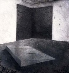 Vik Muniz Picture of Dust 2000 (after Donald Judd's Untitled, 1965 and Richard Serra's Left Corner Rectangles, 1979)