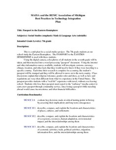 Worksheets Hemisphere Worksheets agriculture in the eastern hemisphere 7th grade worksheet lesson passport to plan planet