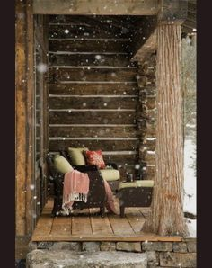 Use your porch in winter