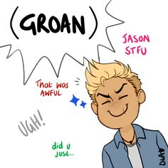 How do you see the others within the team + Reyna/Nico? jason: keep calling me camp dad, and i'll keep making shitty dad jokes. Percy Jackson Art, Percy Jackson Fandom, Solangelo, Percabeth, The Lost Hero, Piper Mclean, Jason Grace, Trials Of Apollo, Magnus Chase