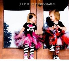 Pirate Tutu Costume Perfect for Halloween or by KirrasBoutique