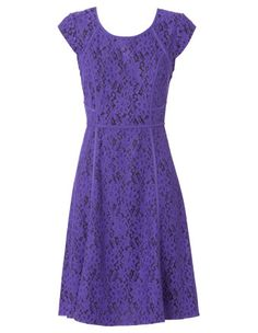 Basque - All Over Lace Panelled Dress