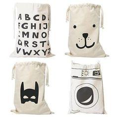Kids Canvas Bags