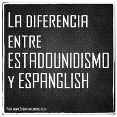 Estadounidismos: la evolución del español en Estados Unidos #Spanglish #Spanish #RAE