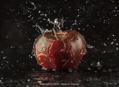 Exclusive from  Helen K. Passey, Water Splashing on Tomato - Stock Photos & Images | Stockafe.com #stockafe #stockphotography