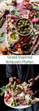 Greek Inspired Antipasto Platter | halfbakedharvest.com @hbharvest Snacks Für Party, Appetizers For Party, Appetizer Recipes, Greek Appetizers, Greek Dinners, Antipasto Platter, Mezze Platter Ideas, Crudite, Cooking Recipes