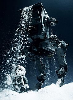 Star Wars Photo Series  Stunning Star Wars photo series made with Legos and other toys by Avanaut.