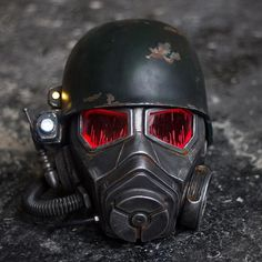 NCR Ranger Helmet+Armor+Raincoat, inspired by Fallout New Vegas Video Game Fallout Props, Fallout Game, Airsoft, Fallout New Vegas Ncr, Fallout Cosplay, Bioshock Cosplay, Fallout Costume, Apocalypse, Ncr Ranger