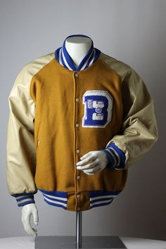 VIntage Varsity Jacket Large XL Coach s by KeyAcquisitions d6c01f5ddf20