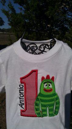 Gabba birthday shirt