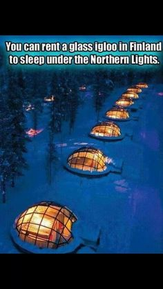 I so want to do this!! How amazing!
