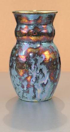 [Iridescent Pottery by Paul J. Katrich (0785)]