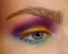 B Academy week 5 - 'Colourfool' Week 5, Make Up, Maquiagem, Maquillaje, Makeup