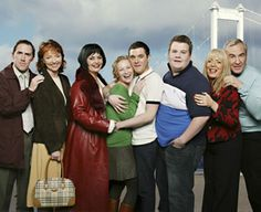 Gavin and Stacey - Love the fact that several of the main characters compete to see who will steal the show more.