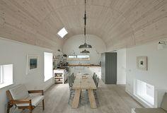 House No. 7, Tiree Winner, Private  Main wood species: Scottish spruce glulam, Scottish larch, reclaimed pitch pine Architect: Denizen Works
