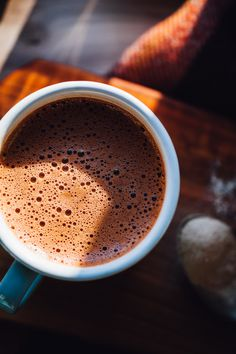 Coconut Water Hot Chocolate — Will Frolic for Food Coconut . Coconut Water Hot Chocolate — Will Frolic for Food Coconut Water Hot Chocolate — Will Frolic for Food, Hot Chocolate Coffee, Hot Chocolate Recipes, Chocolate Food, Healthy Chocolate, Chocolate Sponge, Chocolate Truffles, Homemade Chocolate, Best Nutrition Food, Health And Nutrition