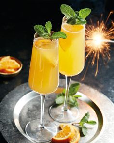 Citrus cocktail without alcohol - Clean Eating Snacks Ginger Cocktails, Summer Cocktails, Prosecco, Cocktail Drinks, Christmas Drinks Alcohol, Christmas Cocktails, Christmas Recipes, Christmas Ideas