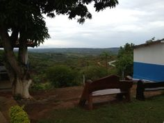 Meditation area in Brazil.  John of God.