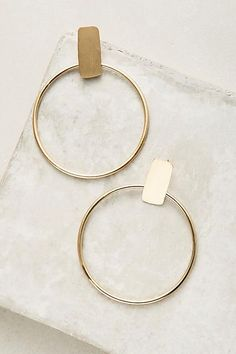Anthropologie Limitless Hoop Earrings #afflink