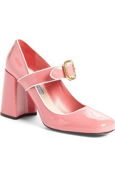 I'm going to save up for these.  Prada Mary Jane Pumps.