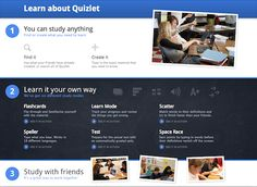 Quizlet is an excellent vocabulary review website; adds fun competition and games to flash cards