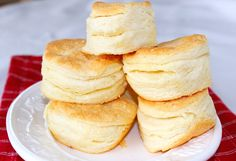 High Rise Buttermilk Biscuits Recipe from Syrup & Biscuits