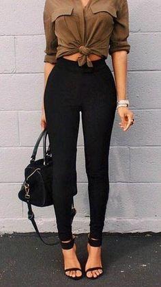 cool Black Classic High-Waist Leggings by http://www.globalfashionista.xyz/high-fashion/black-classic-high-waist-leggings/