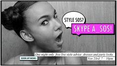 ASOS style SOS