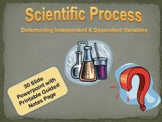 Independent, Dependent Variables and Hypothesis Powerpoint Science Topics, Science Resources, Science Fair, Teacher Resources, Science Ideas, Middle School Teachers, Middle School Science, Student Teaching, Teaching Ideas