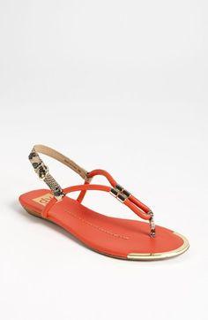 cute colored sandals