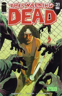 The Walking Dead #9 - Cover: Charlie Adlard / Cliff Rathburn