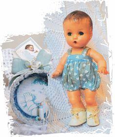Vintage Boneco Bebê da Estrela - década 40