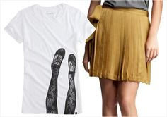 Great graphic tee outfit inspiration on this page.