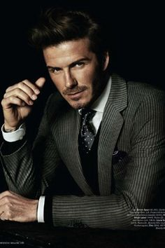 Tailored David Beckham