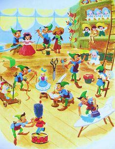 §§§ : Santa's Toy Shop : Little Golden Book : 1950