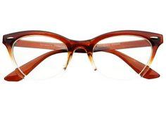 New Womens Half Tinted Modern Retro Clear Lens Wayfarer Cat Eye Glasses Frames (Brown) by dc-store, http://www.amazon.com/dp/B00BU6S9XS/ref=cm_sw_r_pi_dp_6gC0rb1RTYJB3