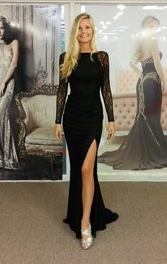 """At last an absolutely stunning gown """"with lace sleeves"""",so many of us are looking to be glam without bearing our arms....What a Superb addition to Pia Michi,s A/W 2014 Collection  ......available now here at MRCD(myredcarpetdress)"""