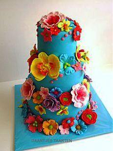 Summer flowers cake Cake Flower and Summer