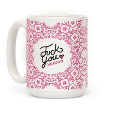A daintily profane mug.