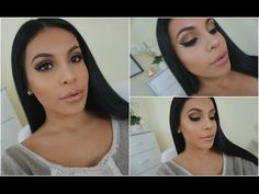 Full Drugstore Makeup Look + Affordable Brushes | juicyyyyjas - YouTube