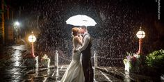Wedding Portoflio from South Wales Photographer South Wales, White Dress, Wedding Photography, Creative, Rain, Weddings, Dresses, Rain Fall, Vestidos