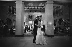 Romantic Downtown Omaha Wedding with Joslyn Art Museum Reception