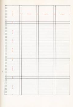 Josef Muller Brockmann Grid