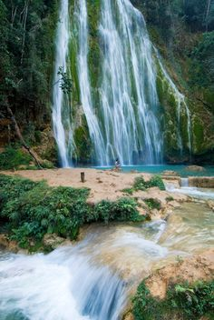 Salto El Limon Waterfall, Samana is where I'd love to go and experience this place- so gorgeous.