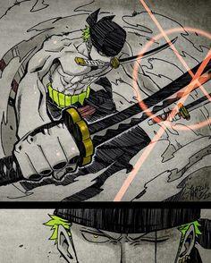 30 Day One Piece Challenge, Day 1, Favorite Strawhat Pirate (Besides Luffy): Roronoa Zoro.